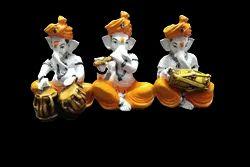 Fiber Musical Ganesha Set
