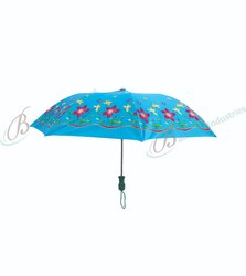 satin folding umbrella