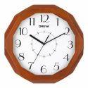 Analog Aq 4207 Wooden Clock
