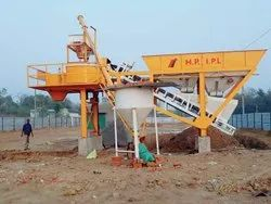 Single Casis Design Batching Plant