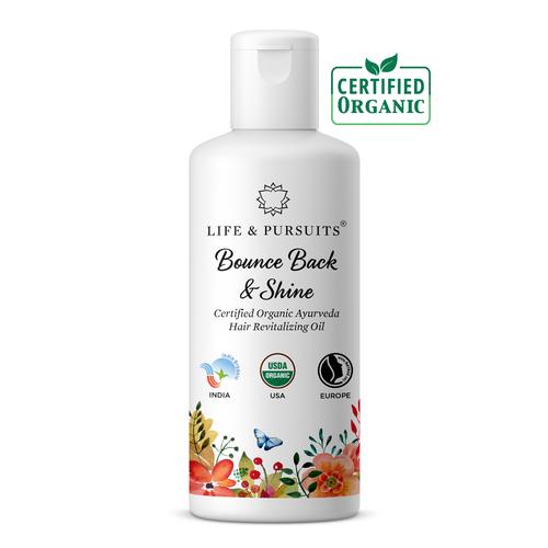 a83807fb10 Life & Pursuits Organic Hair Revitalizing Oil, Pack Size (mililitre): 100 Ml