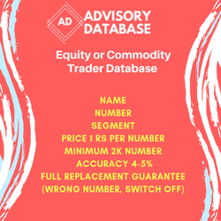 Equity & Commodity Database