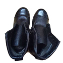 Men Black Leather Shoes, Size: 6 To 12