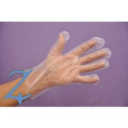 C-Cure Plastic Disposable Gloves