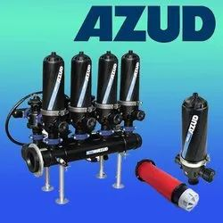 Plastic AZUD Automatic Disc Filters, Depending On Size, Capacity: 5- 30 M3/Hrs