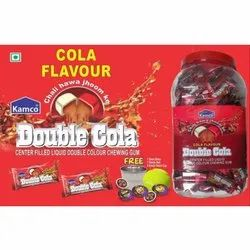 Kamco Center Filled Liquid Double Cola Chewing Gum