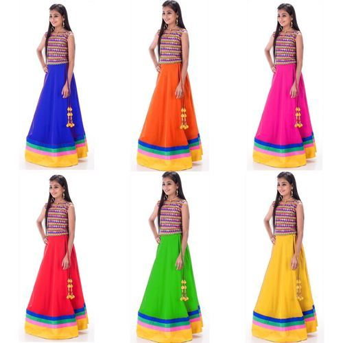 658e6da235 Festive Wear Holi Special Latest Fancy Kids Lehenga Choli, Rs 500 ...