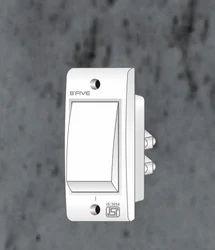 B'Five Bakelite 6 Amp 1 Way N-1 Switch, 220-240 V