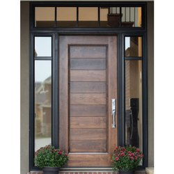 Wooden Safety Door, For Home, Hotel