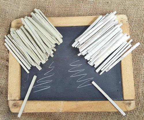 Rm White Slate Pencil Rs 400 Box Rameshwaram Marble