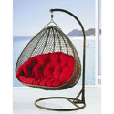 Wicker Patio Swing