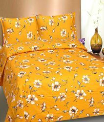 Bombay Dyeing Floral Printed Double Bed Sheets