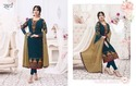 Stitched Rani Embroidery Long Suit, Size: M, L And Xl