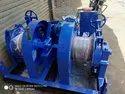 10 Ton Double Drum Winch Machine