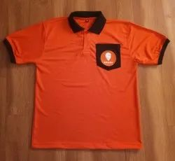 Male Polyester Corporate Half Sleeve T-Shirt, Size: S To 2xl