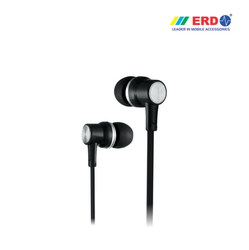 HF-21 BLACK EARPHONE