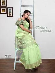 Linen Look Saree