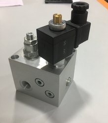 Lift valve block