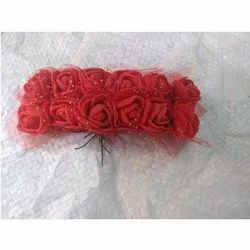 Small Artificial Foam Flower With Stick