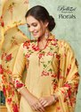 Belliza Designer Florals Cotton Digital Prints Ladies Suits