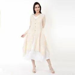 Jaipuri Angel Vibe Cotton Midi Dress