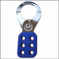 Blue Nylon Safety Hasp