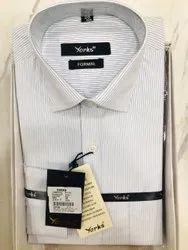 Cotton White Yorks Shirt