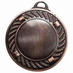 Antique Round Brass Medal