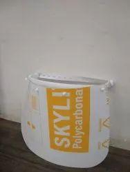 Face Shields - Polycarbonate - 800 Micron