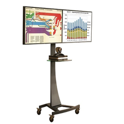 Contemporary Height Adjustable LCD TV Stand