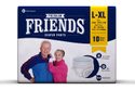 Friends Adult Premium Disposable Pullups