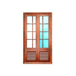 FT-302 french shutter window