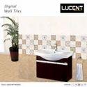 Ceramic Lucent Decor Wall Tile, Size: 20x30 Cm