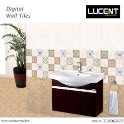 Lucent Decor Wall Tile, Size: 20X30 CM, 5-10 mm