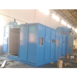 Batch Type Paint Shop Booth