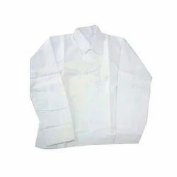 White Plain Cotton School Shirt