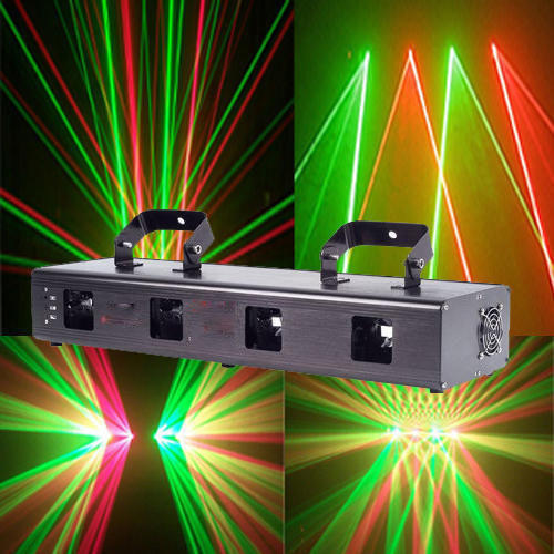 Four Head Laser Light Type Of Lighting Application Stage
