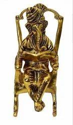 Gold Plated Sitting Ganesha For Return Gift