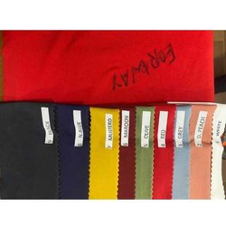 4 Way Multicolors Lycra Fabric