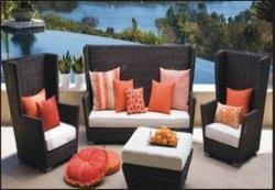 Wicker Sofa Set Manufacture in India