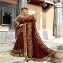 New Wedding Wear Designer Silk Saree