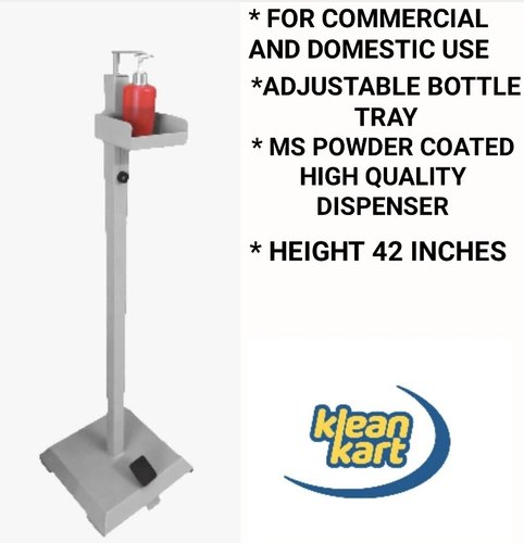 Foot Operated Sanitizer Dispenser by KLEANKART