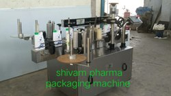 Automatic Flat Bottle Labelling Machine