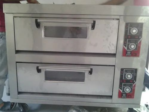 Automatic Mild Steel Deck Oven for Breads