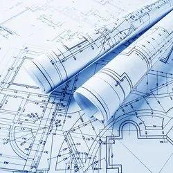 Commercial Building Blue Print