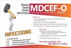 Cefixime 200 mg Ofloxacin 200 mg Tablets