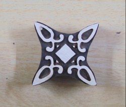 Designer Henna Pattern Wooden Printing Blocks