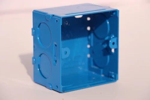 3x3, 2M S&G Electrical Modular GI Metal Box