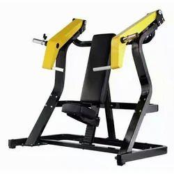 Simco Black And Yellow Hammer Chest Press Machine