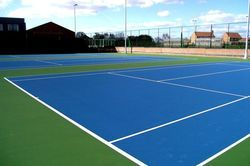 Lawn tennis court Synthetic Acrylic Flooring